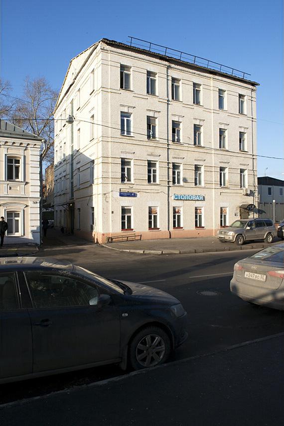 Общежитие Красносельская
